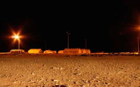 Campo de refugiados de Ruweished, na Jordânia, a cerca de 50km do Iraque (Foto: Divulgação)